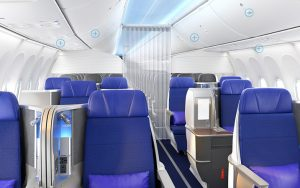 Boeing 737 Max - cabine