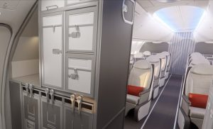 Boeing 737 Max - galley