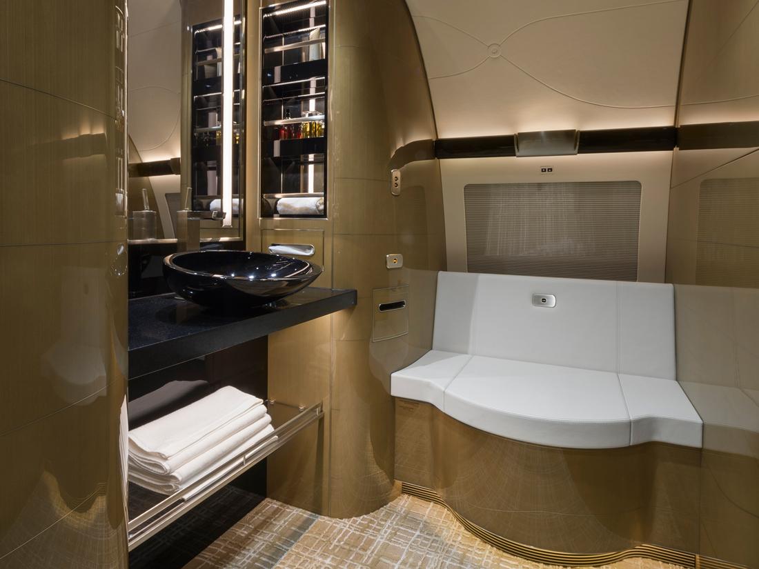 18 derrière le living privé il y a la deuxième salle de bains – photo Cabinet Alberto Pinto
