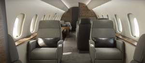 Bombardier Global 5500 - cabine