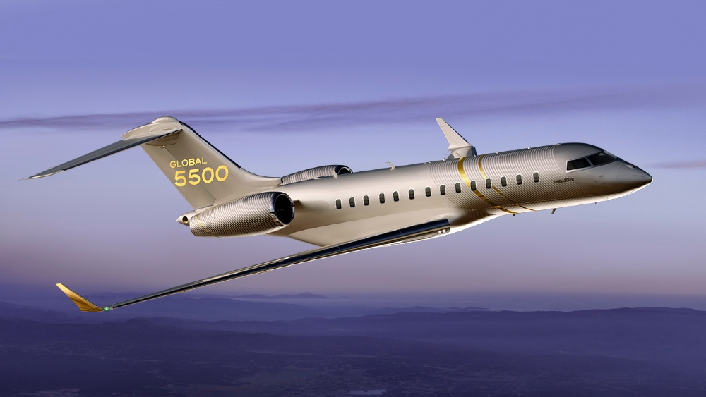 Bombardier Global 5500 - photo Bombardier