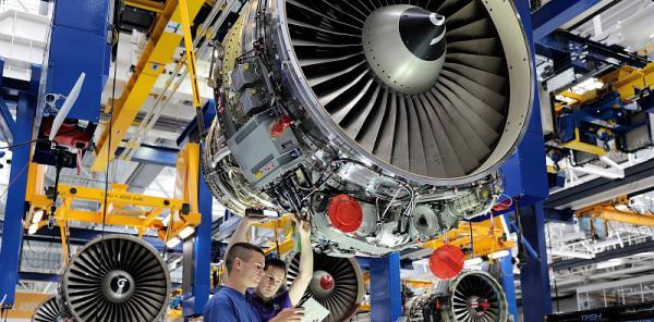 Un moteur jet avec nacelle Safran - photo Safran