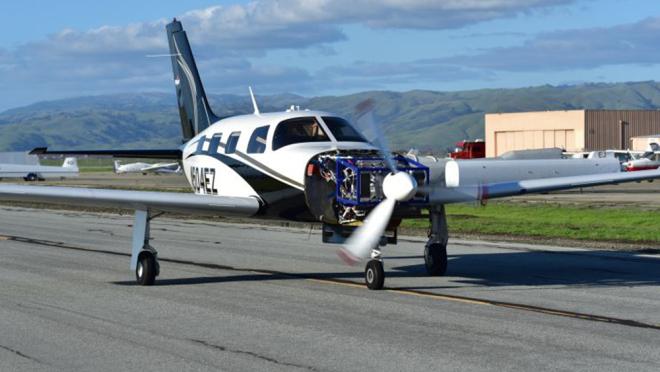 Avion privé ZeroAvia - prototype - photo ZeroAvia
