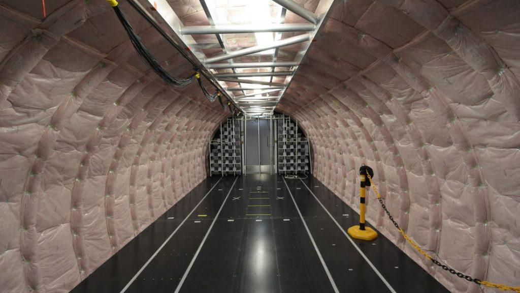 Laboratoire acoustique de vol de Airbus