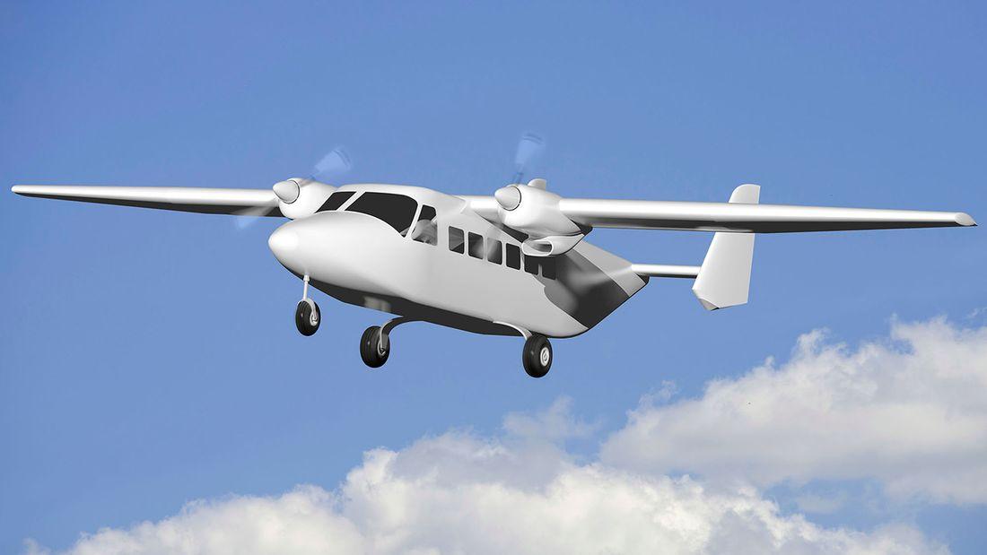Ebauche du prototype d'avion à 14 places Pro-Avia