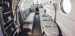 King Air 360 ER ambulance