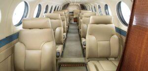 King Air 360 ER - cabine