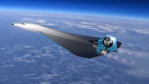 Le projet de jet supersonique de Virgin Galactic