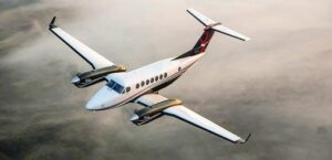 Le vieux King Air 350