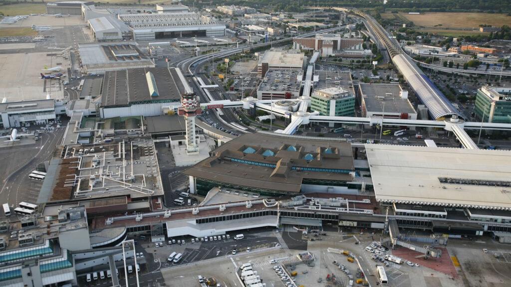 Aeroporto de Rome Fiumicino