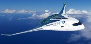 3 - Airbus zéro émission aile volante
