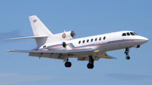 Dassault Falcon 50 Trijet