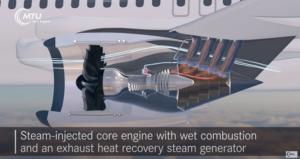 le concept de moteur WET de MTU