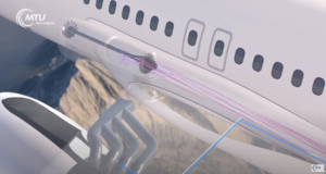 Voler avec de la vapeur d'eau
