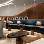 ACJ350 de Lufthansa - lounge