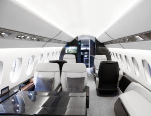 Falcon 6X - Photo courtesy Dassault- cabine