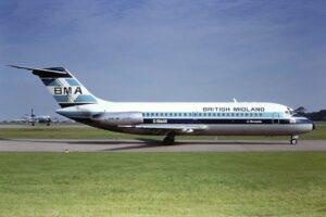 5 - McDonnell Douglas DC-9