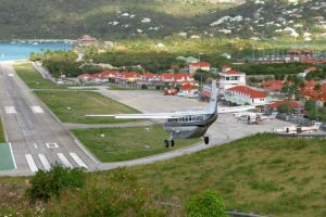 Paro airport - photo Konstantin von Wedelstaedt