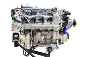 Le moteur diesel Continental CD-170