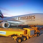 Un Airbus A380 de Emirates fait le plein de bio-kérosène - Photo Emirates