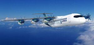 Dernier concept avion à hydrogène Airbus