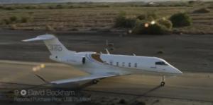 Bombardier Challenger 3 - David Beckham