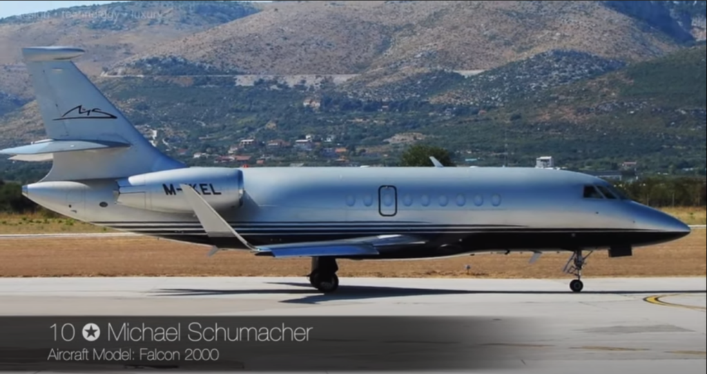 Falcon 2000 - Michael Schumacher