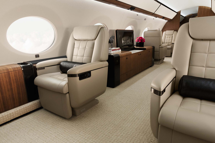 Gulfstream G650ER-living