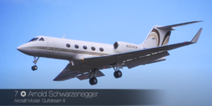 Gulfstream III - Arnold Schwarzenegger