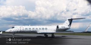 Gulfstream IV - Michael Jordan