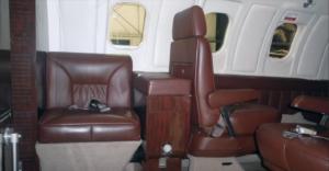 LearJet 24 D - cabine