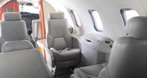 LearJet 31 A - cabine
