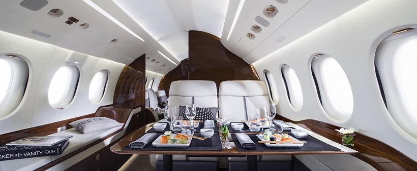 Falcon 7X - cabine
