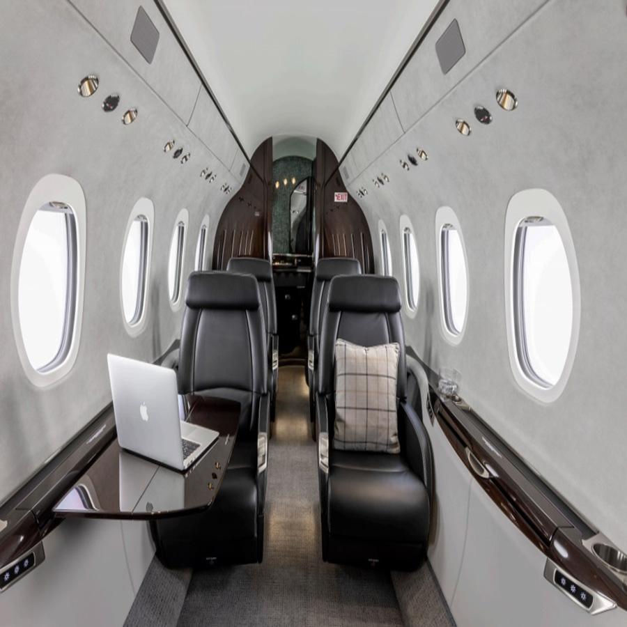 Cessna Citation Latitude - cabine