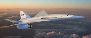 Exosonic jet - Illustration ne correspondant pas au futur modèle