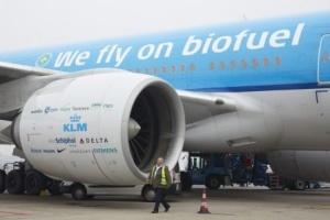 Jet à biocarburant