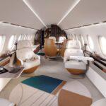 Falcon 10X - cabine
