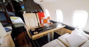 Bombardier Global 6000 - cabine