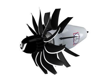 Voici à quoi pourrait ressembler le nouveau moteur. Source : CFM