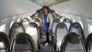 L'intérieur du Concorde - Courtesy Jetlinercabins.com and Spiritofconcorde.com
