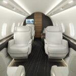 Challenger 3500 - cabine